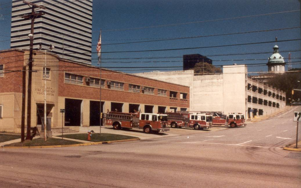 The Fire Station HQ in 1995 | Photo courtesy Columbia Fire Department Museum