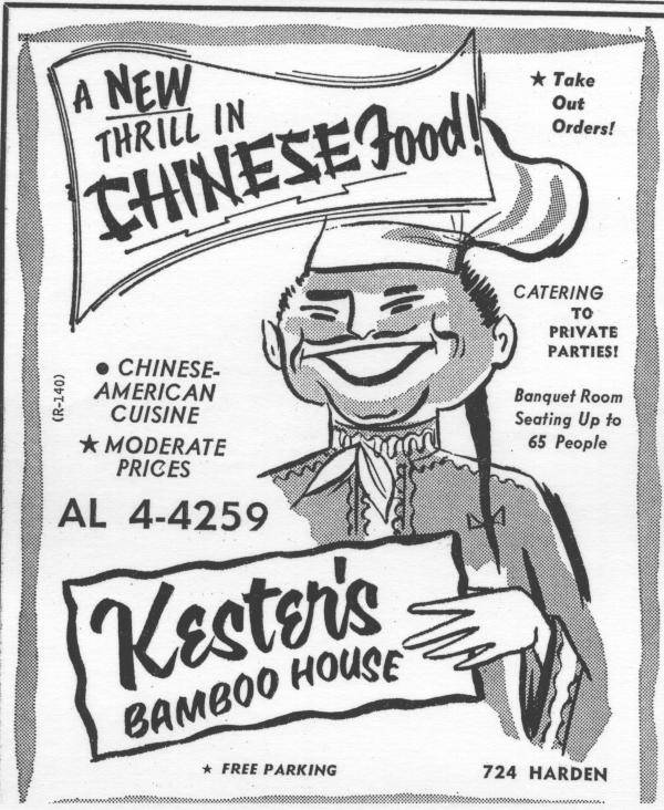 Kester's Bamboo House in Five Points