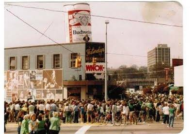 Yesterdays St. Pats in Five Points