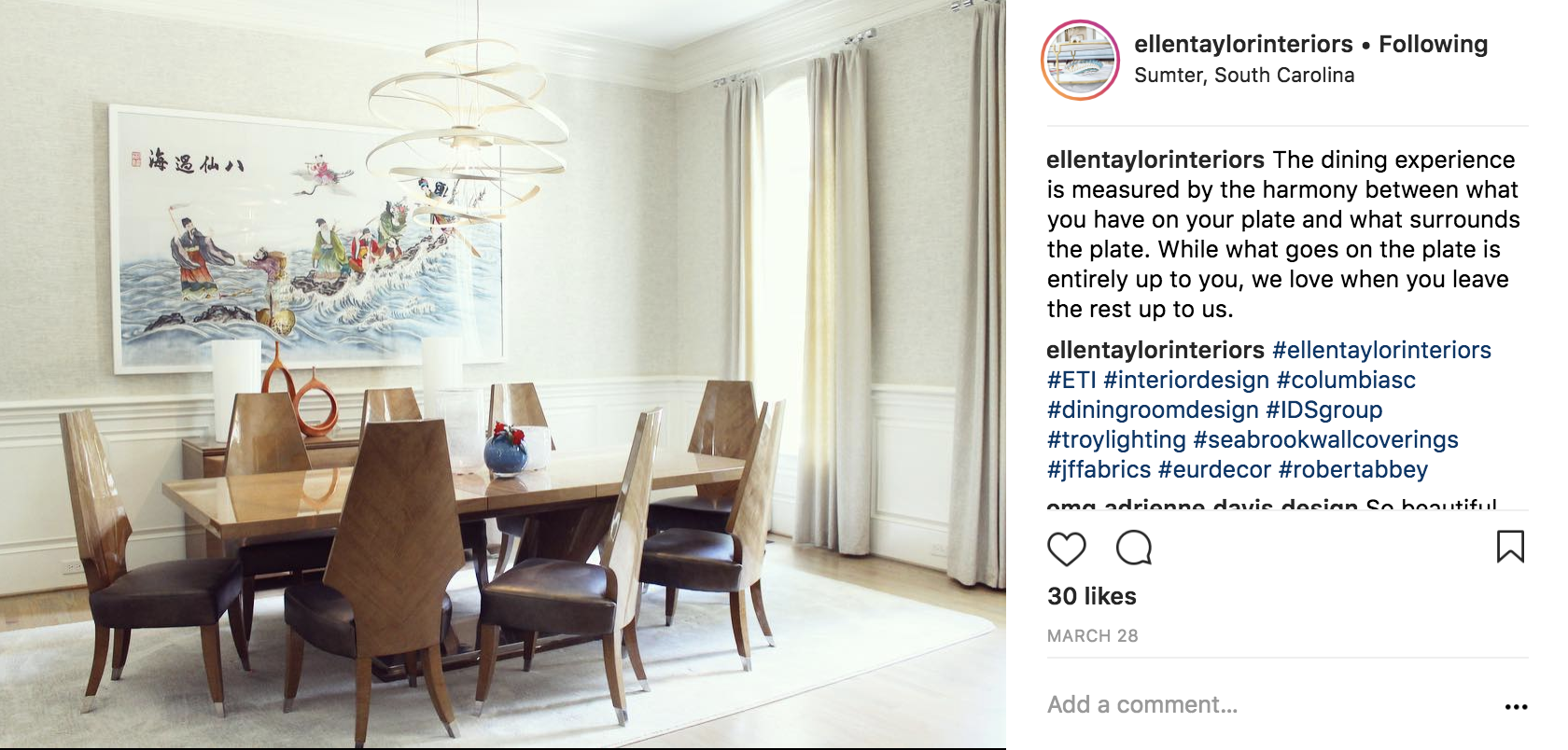Ellen Taylor Interiors Incorporates Bright Color Accents Like Asian Art Into Her Rooms That Make Your E Pop
