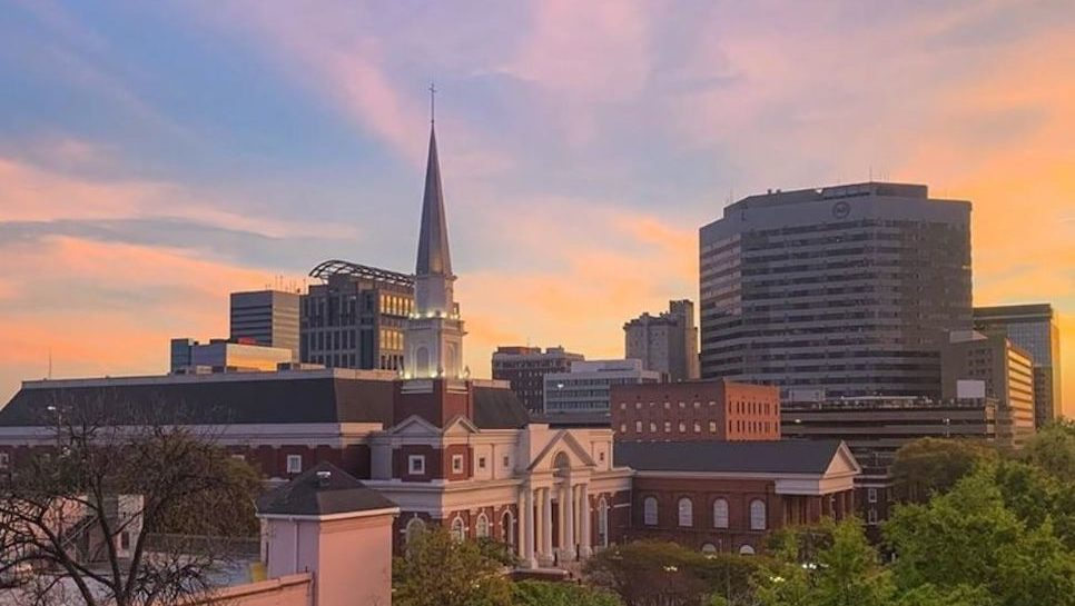 sunset-downtown-columbia-sc