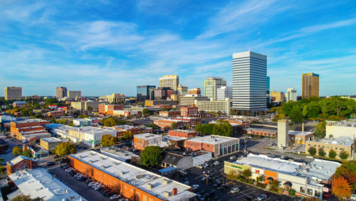 Downtown Columbia, SC skyline | Photo provided by EngenuitySC